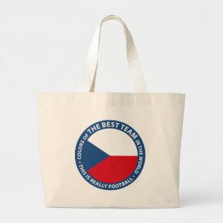 Československo shield canvas bags