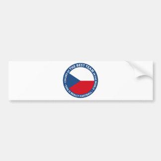 Československo shield bumper sticker