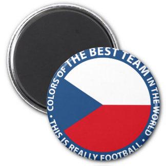 Československo shield imán redondo 5 cm