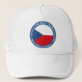 Československo shield trucker hat