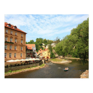 Cesky Krumlov 002, Czech Photo Postcard