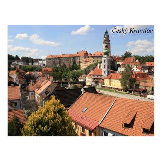 Český Krumlov, Czech Republic Postcard