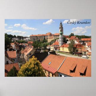 Český Krumlov, Czech Republic Poster