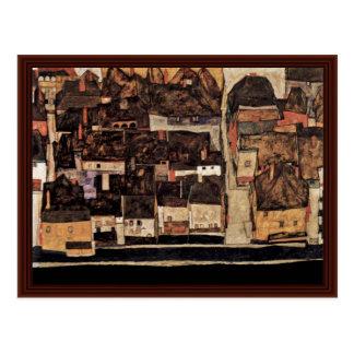 Cesky Krumlov On The Vltava Or Small Iv Postcard