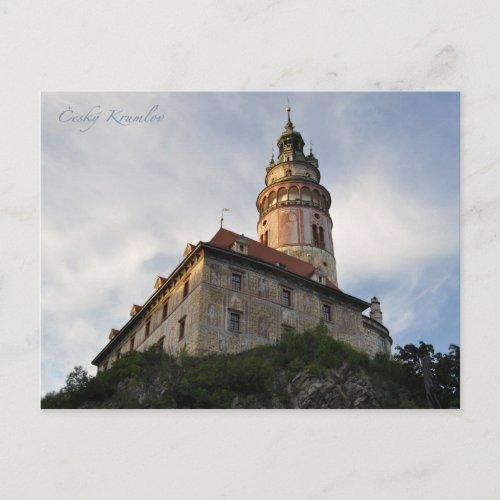 Cesky Krumlov postcard postcard
