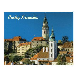 Cesky Krumlov postcard