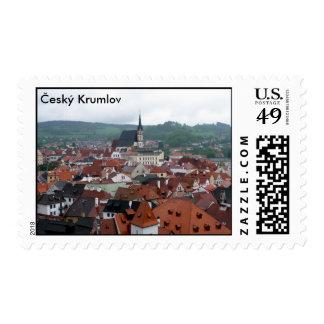 Český Krumlov República Checa Sello