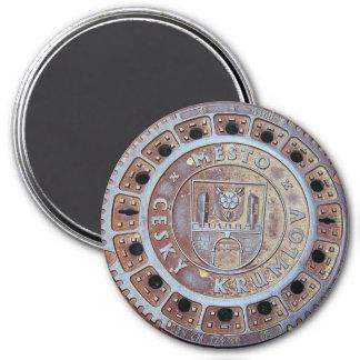 Cesky Krumlov Sewer Cover Magnet