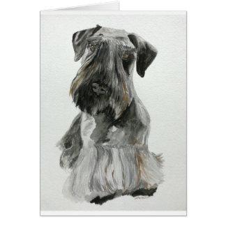 Cesky Terrier Card