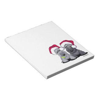 Cesky Terrier Christmas Notepad