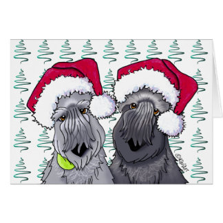 Cesky Terrier Christmas Stationery Note Card