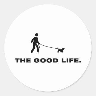 Cesky Terrier Classic Round Sticker