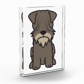 Cesky Terrier Dog Cartoon Award