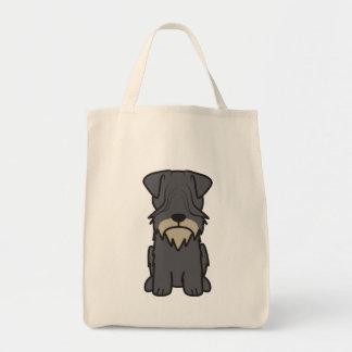 Cesky Terrier Dog Cartoon Bag