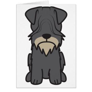 Cesky Terrier Dog Cartoon Greeting Cards