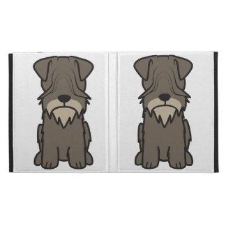 Cesky Terrier Dog Cartoon iPad Folio Cover