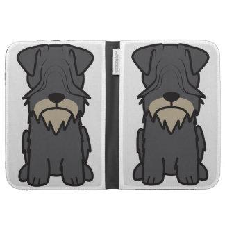 Cesky Terrier Dog Cartoon Kindle Folio Cases
