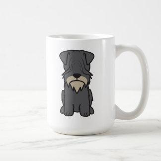 Cesky Terrier Dog Cartoon Coffee Mug