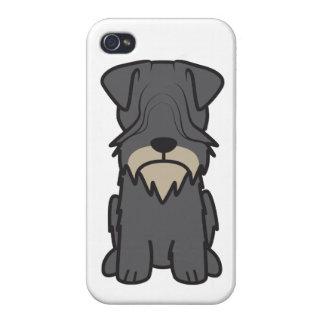 Cesky Terrier Dog Cartoon iPhone 4 Covers