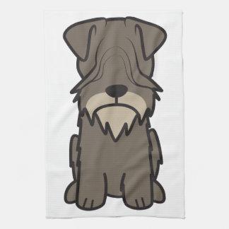 Cesky Terrier Dog Cartoon Kitchen Towel