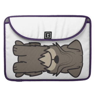Cesky Terrier Dog Cartoon Sleeve For MacBook Pro