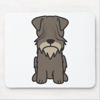 Cesky Terrier Dog Cartoon Mousepad