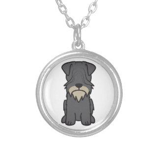 Cesky Terrier Dog Cartoon Pendants