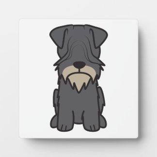 Cesky Terrier Dog Cartoon Photo Plaques