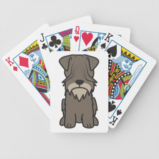 Cesky Terrier Dog Cartoon Bicycle Poker Deck