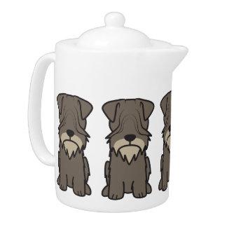 Cesky Terrier Dog Cartoon