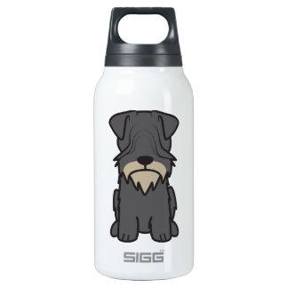 Cesky Terrier Dog Cartoon Thermos Bottle