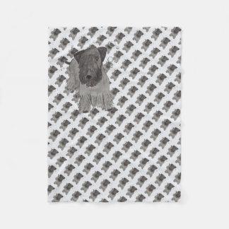 Cesky Terrier Fleece Blanket