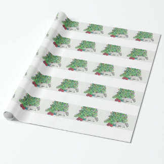 Cesky Terrier My tree Gift Wrapping Paper