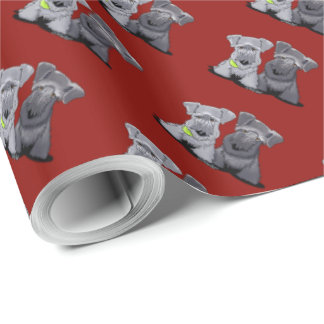 Cesky Terriers Wrapping Paper