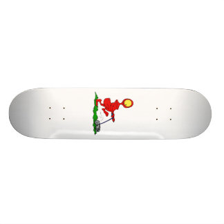Césped de siega del extranjero tabla de skate