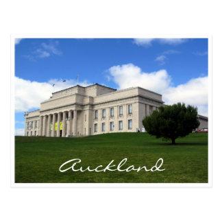 césped del museo de Auckland Tarjeta Postal