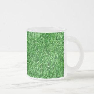 Césped hermoso taza de cristal