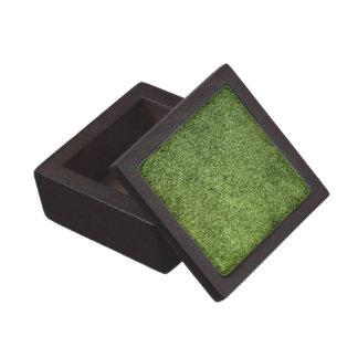 Césped verde cajas de regalo de calidad
