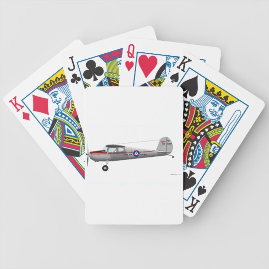 Cessna 140 bicycle playing cards