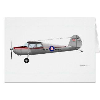 Cessna 140 card