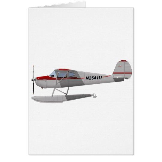 Cessna 140 On Floats N2541U Card