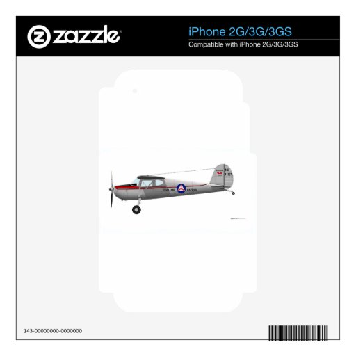 Cessna 140 skins for iPhone 2G