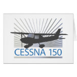 Cessna 150 Airplane Greeting Card