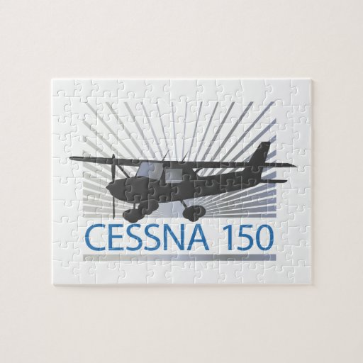 Cessna 150 Airplane Jigsaw Puzzle