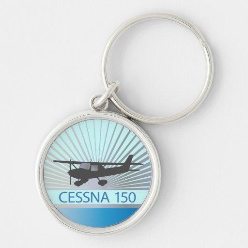 Cessna 150 Airplane Keychain