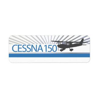 Cessna 150 Airplane Label