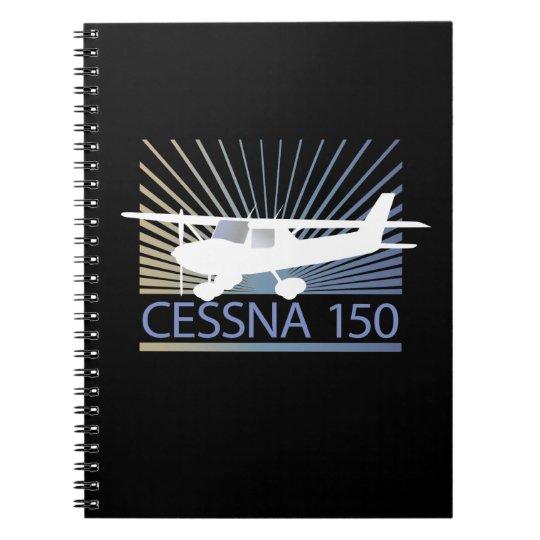 Cessna 150 Airplane Notebook