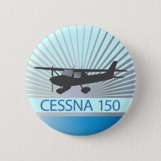 Cessna 150 Airplane Pinback Button