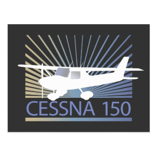 Cessna 150 Airplane Postcard