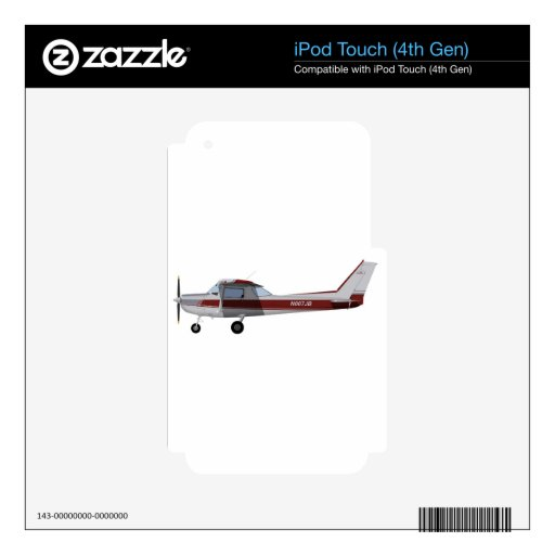 Cessna 152 392392 decals for iPod touch 4G